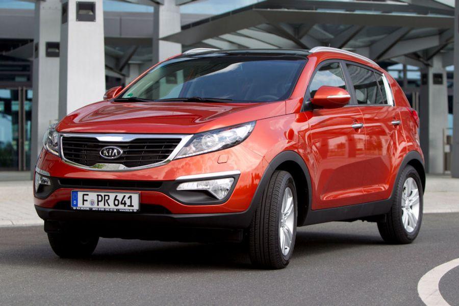 Kia Sportage 2 0 CRDi AWD Neue Topversion mit 184 PS
