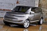 Kia KV7 Van Concept Car Studie Theta II Box Ringleader Touchscreen WLAN Internet Smartphone Front Seite Ansicht