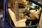 Renault Twingo Facelift Nicola Roberts Pop Fashion Mode Tonstudio Musik Interieur Innenraum Cockpit