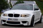 TVW Car Design BMW 1er M Coupe 3.0 Reihensechszylinder TwinPower Turbo Biturbo Front Ansicht