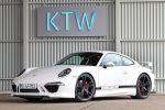 KTW Tuning Porsche 911 991 Carrera S 3.8 Boxermotor Aerodynamik Kit Bodykit Noselift Front Seite