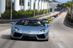 Lamborghini Aventador LP 700-4 Roadster Miami South Beach Collins Avenua Parade 6.5 V12