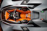 Lamborghini Egoista Concept 5.2 V10 Walter De Silva Dach Cockpit