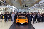 In Sant'Agata Bolognese rollte am 11. Mai 2010 der letzte Murciélago aus den Werkshallen mit Zielort in der Schweiz. 4.099 Exemplare des Lamborghini Murciélago entstanden von 2001 bis 2010.