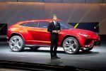 Lamborghini Urus Concept Studie SUV Offroader Geländewagen Luxus Performance Front Seite Ansicht
