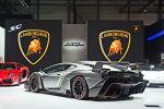 Lamborghini Veneno 6.5 V12 ISR Forged Composite Carbon Skin Heckte Ansicht