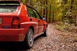 Lancia Delta HF Integrale Evoluzione Heck Ansicht