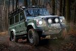 Land Rover Defender Blaser Edition 110 Station Wagon SE Offroad 2.2 Turbodiesel Jagd Keswick Green Grün Front Seite Ansicht