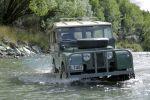 Land Rover Serie 1 Geländewagen Offroader 1957 Neuseeland Landy Will Radford Front Wasserdurchfahrt