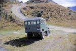 Land Rover Serie 1 Geländewagen Offroader 1957 Neuseeland Landy Will Radford Heck