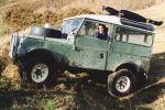 Land Rover Serie 1 Geländewagen Offroader 1957 Neuseeland Landy Will Radford Seite