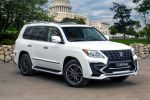 Larte Design Lexus LX 570 White Alligator V8 Bodykit Luxus SUV Crossover Front Seite