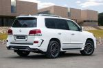 Larte Design Lexus LX 570 White Alligator V8 Bodykit Luxus SUV Crossover Heck Seite