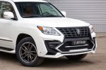 Larte Design Lexus LX 570 White Alligator V8 Bodykit Luxus SUV Crossover Front