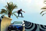Lexus Hoverboard schwebendes Skateboard Zurück in die Zukunft Ross McGouran Hoverpark Barcelona Supraleiter flüssiger Stickstoff Lexus GS F
