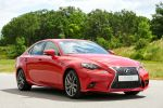 Lexus IS 200t Twin Scroll Turbolader Direktschaltautomatik Front Seite