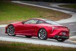 Lexus LC 2017 Sportcoupe Sportwagen 5.0 V8 Saugmotor 10 Gang Automatik Heck Seite
