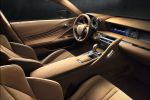 Lexus LC 2017 Sportcoupe Sportwagen 5.0 V8 Saugmotor 10 Gang Automatik Interieur Innenraum Cockpit