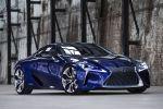 Lexus LF LC 2017 Sportcoupe Sportwagen Hybridantrieb Elektromotor 5.0 V8 Saugmotor Torque Vectoring Differential TVD 10 Gang Automatik Aisin Front Seite