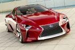 Lexus LF-LC Concept Advanced Hybrid Drive Ecometer Sportwagen Diabolo Front Ansicht