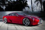 Lexus LF-LC Concept Advanced Hybrid Drive Ecometer Sportwagen Diabolo Front Seite Ansicht