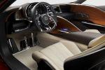 Lexus LF-LC Concept Advanced Hybrid Drive Ecometer Sportwagen Interieur Innenraum Cockpit