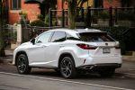 Lexus RX 2016 450h Vollhybrid Elektromotor CVT Allrad AWD 200t Turbobenziner SUV Geländewagen Diabolo Kühlergrill Remote Touch Pad Safety System Sicherheit Assistenzsysteme Heck Seite