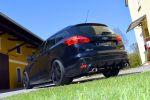Loder1899 Ford Focus Turnier Facelift 2015 Kombi EcoBoost Turbo Benziner ECOnetic Ti-VCT TDCi Diesel Dreizylinder Tuning Bodykit Aerodynamikkit Tieferlegung Heck Seite