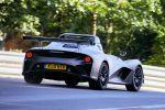Lotus 3-Eleven Road Race 3.5 V6 Vierzylinder Kompressor Sportwagen Roadster Heck Seite