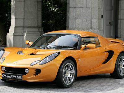 Lotus Elise SC Supercharged.