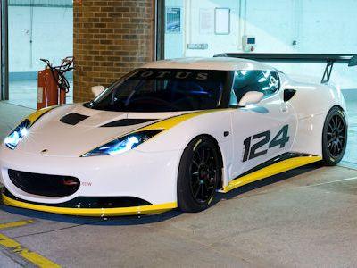 Lotus Evora Type 124 Endurance Racecar: Jetzt geht es richtig rund
