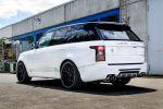 Lumma Design CLR SR Land Rover Range Rover Vogue Bodykit TDV6 Luxus SUV Offroad Geländewagen 4x4 Allrad Heck Seite
