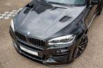 Lumma CLR X6R BMW X6 F16 Crossover SUV Coupe Twin Power Turbo Benziner V8 xDrive50i Tuning Leistungssteigerung Breitbau Bodykit Rad Felge CLR Racing Front Motorhaube