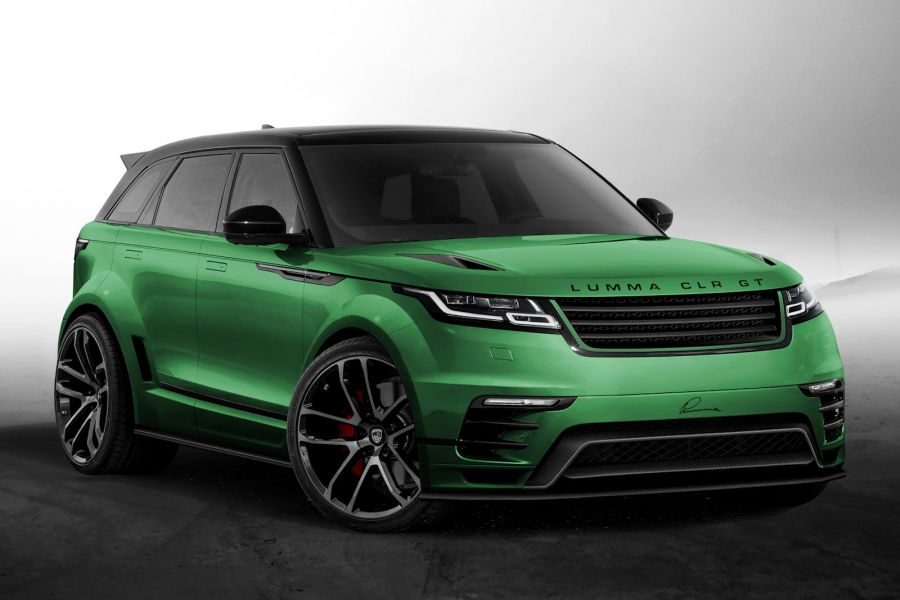 Land Rover Velar >> Lumma Range Rover Velar - Tuning mit Breitbau-Kit - Speed Heads