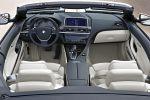 BMW 6er Cabrio Modelljahr MY 2012 640i 650i Innenraum Interieur Cockpit EfficientDynamics TwinPower Turbo Dynamic Drive DSC CBC DBC Black Panel iDrive Night Vision ConnectedDrive