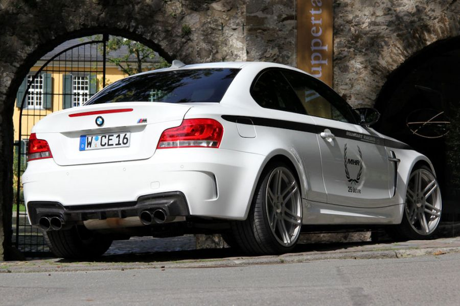 manhart mh1 biturbo bmw 1er m coup performance knaller. Black Bedroom Furniture Sets. Home Design Ideas