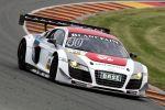 Mamerow Racing Audi R8 LMS ultra 5.2 V10 Rennwagen ADAC GT Masters Sachsenring Christian Mamerow Rene Rast Front Seite Ansicht
