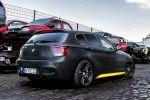 Manhart MH1 400 BMW M135i 1er Performance TwinPower Turbo Carbon Paket Exterieur Concave One Heck Seite