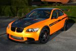 Manhart Racing MH3 V8 RS Clubsport BMW M3 4.4 V8 Concave One Black Edition Performance Front Seite Ansicht