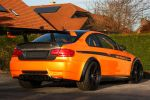 Manhart Racing MH3 V8 RS Clubsport BMW M3 4.4 V8 Concave One Black Edition Performance Heck Seite Ansicht