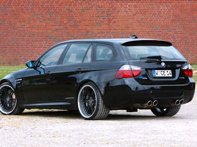 Sports Motorsports Auto Racing News  Media on Manhart Racing Bmw M3 5 0 V10 Touring Smg Kombi E91 E60 Bilstein Pss10