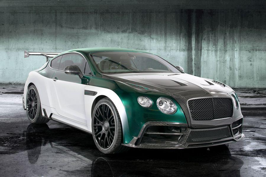 mansory bentley continental gt race: luxus-racer mit 1001 ps - speed