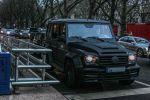 Farid Bang Gangsta Rapper Mansory Gronos Mercedes-Benz G 350 V6 G-Klasse Offroad Geländewagen Carbon Bodykit Aerodynamikkit Tuning Leistungssteigerung Banger Musik Front