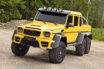 Mansory Mercedes-Benz G 63 AMG 6x6 V8 Biturbo Offroad Geländewagen Pickup Carbon Bodykit Tuning Leistungssteigerung Abgasanlage Front
