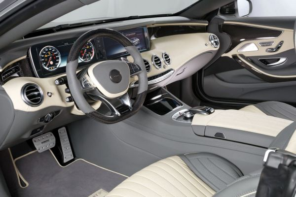 Mansory Mercedes-Benz S 63 AMG Coupe S-Klasse 5.5 V8 Biturbo Interieur Innenraum Cockpit