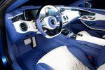 Mansory Mercedes-Benz S 63 AMG Coupe Diamond Edition S-Klasse 5.5 V8 Biturbo Multispoke Bodykit Aerodyanmikkit Interieur Innenraum Cockpit