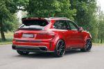 Mansory Porsche Cayenne Turbo S Tuning Leistungssteigerung Bodykit Aerodynamikkit Carbon Sport SUV 4.8 V8 Rad Felge Spider Heck Seite