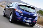 Mazda 3 Edition 125 Exclusive Line Sport 1.6 MZR Heck Seite Ansicht