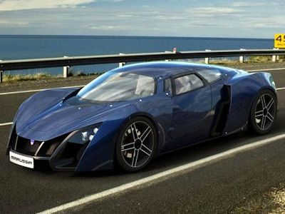 Marussia B2: Vader meets Veyron