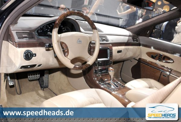 Maybach 62 Facelift Cockpit